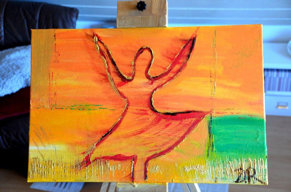 Die betende Ballerina
